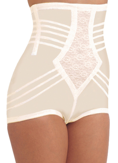 Shapette High Waist Brief Girdle Beige Regular & Plus