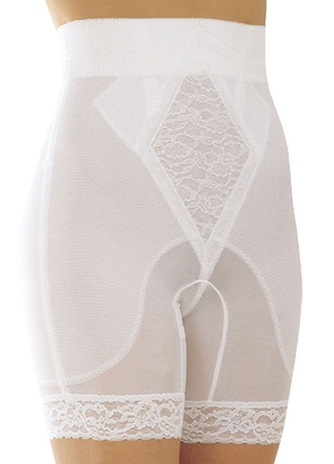 High Waist Long Leg Shapper White Plus