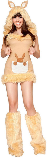 Kangaroo Cutie Mini Dress