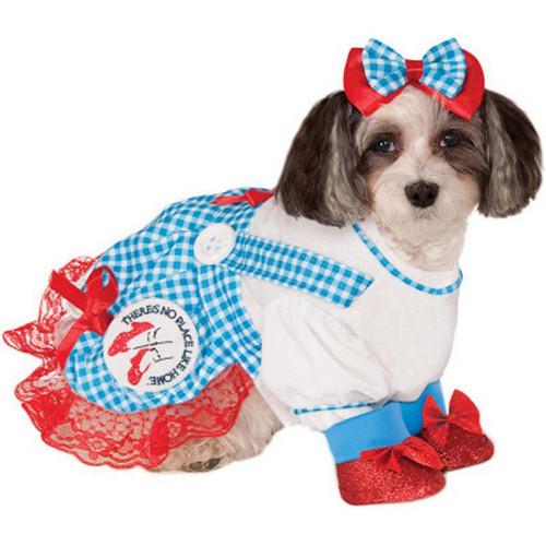 Wizard Oz Dorothy Pet Costume