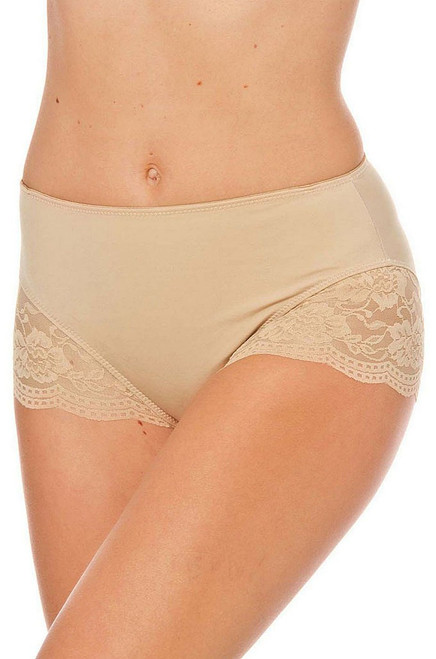 Lacey Accent Hicut Shaper Nude