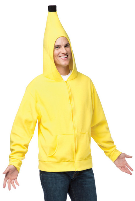 Banana Adult Hoodie