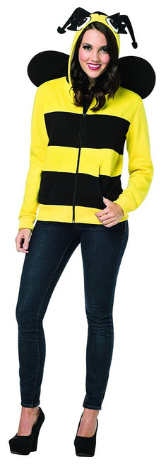 Hoodie Bumble Bee Costume