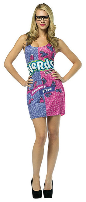 Nerds Dress Adult Costume