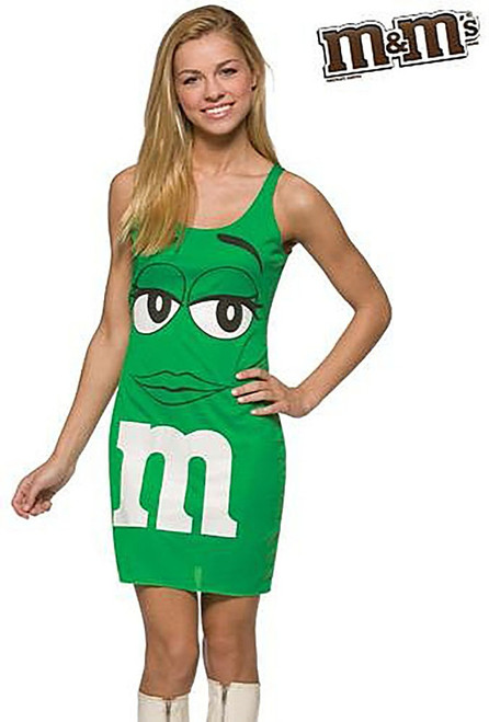 M&M  Green tank dress
