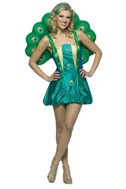 Womens Peacock Costume