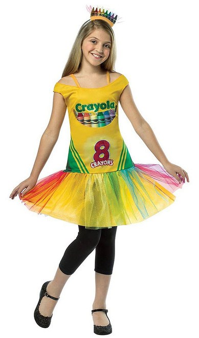 Crayon Box Girl Dress