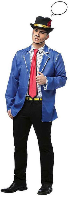 Pop Art Guy Adult Costume