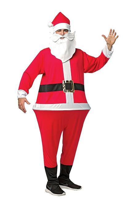 Santa Hoopster Adult Costume