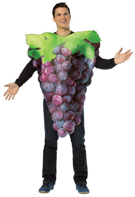 Bunch of Grapes Costume Purple