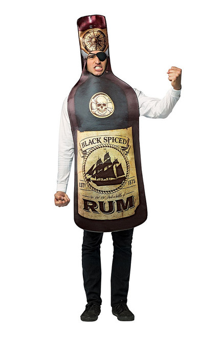 Get Real Rum Bottle Costume