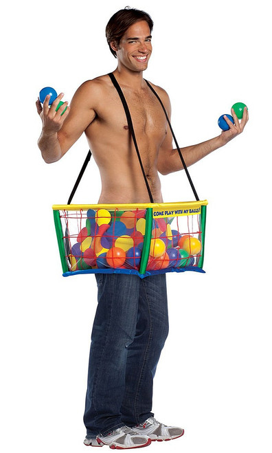 Ball Pit Adult Costume