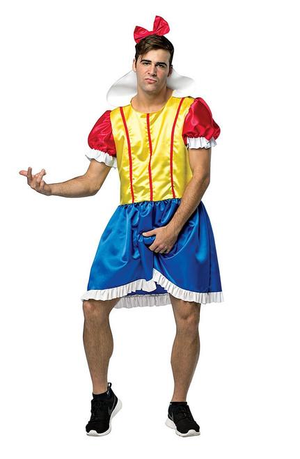 Bro White Adult Costume