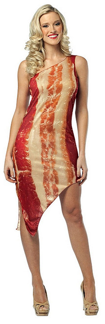 Sexy Strip of Bacon Dress