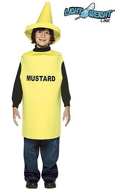 Mustard  Kid costume