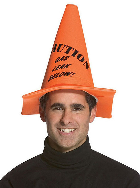 Gas Leak Caution Cones Hat