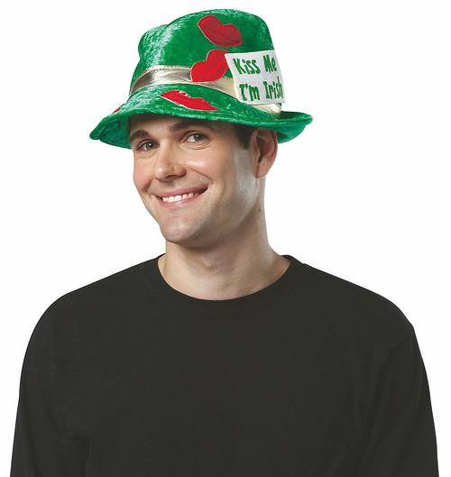 Kiss Me I'm Irish Fedora