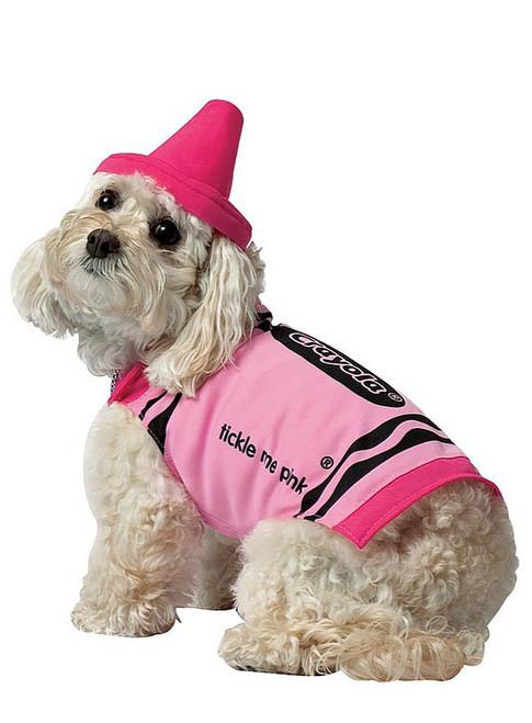 Crayola Pink Dog Costume