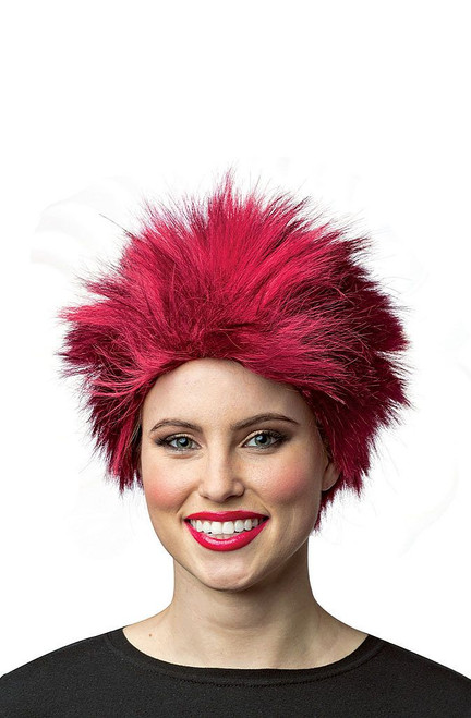 Short and Spiky Red Wig