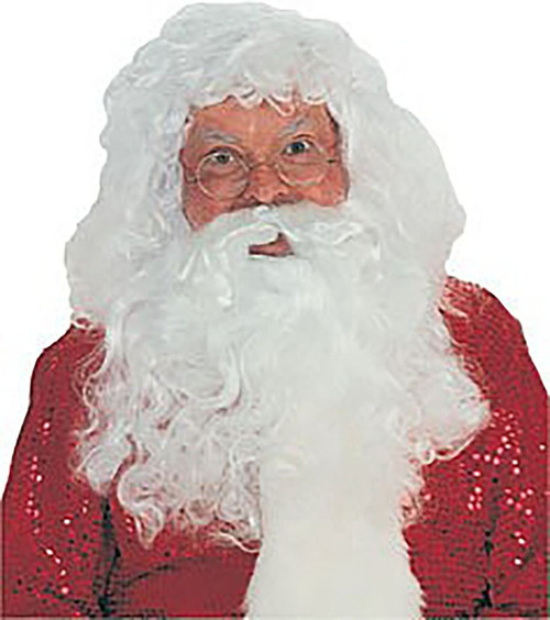 Santa Claus Beard and Wig