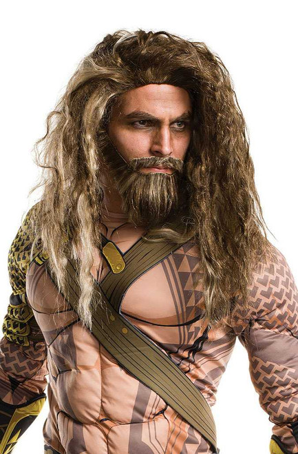 Aquaman Beard and Wig