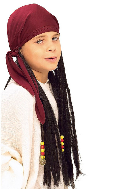 Pirate Bandana with Dreadlocks