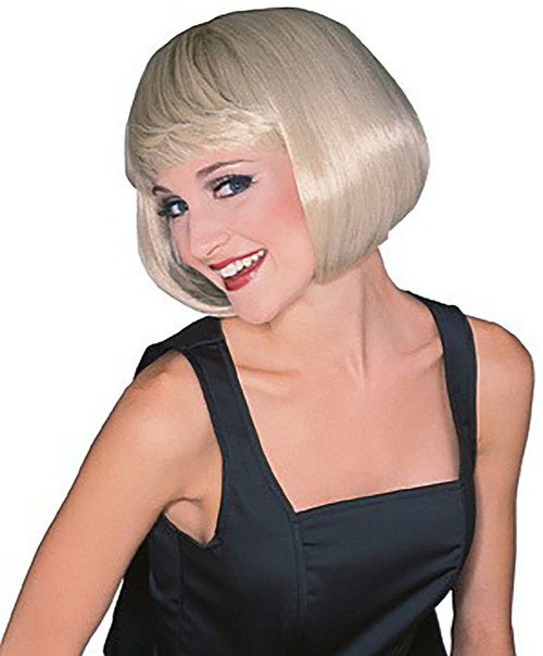 Short Blond Wig
