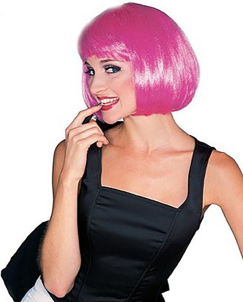 Super Hot Pink Wig