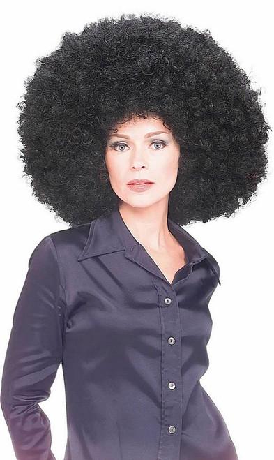 Afrowig Black Oversize
