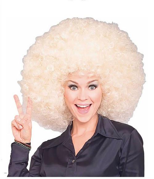 Blonde Super Afro wig
