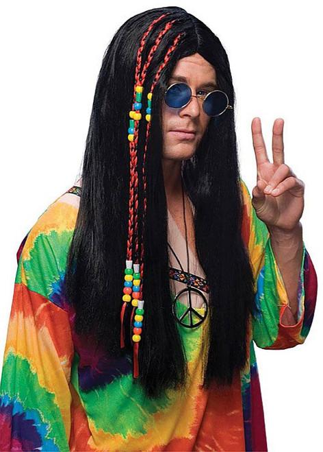 Long Hippy Hair Wig