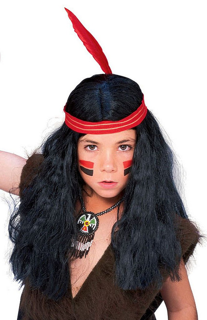 Native American Male Wig Child