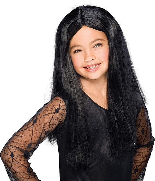 Witch Wig for Kids in Black