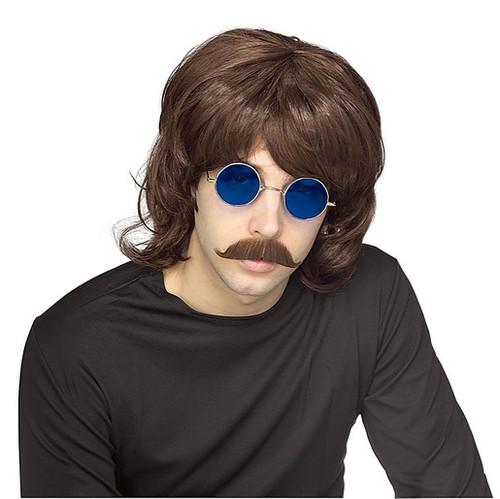 70's Shag Wig Brown