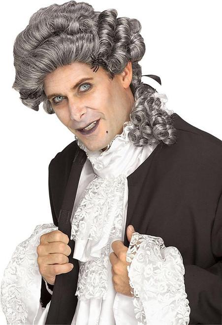 Male Grey Colonial Wig