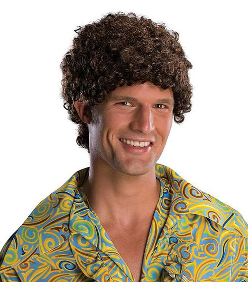 Tight Fro Brown Wig