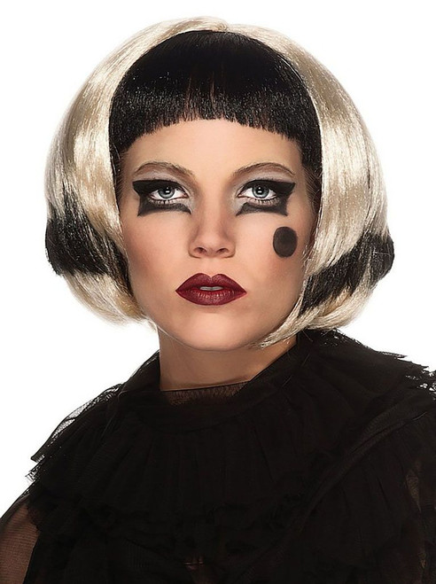 Lady Gaga Black/Blond Wig