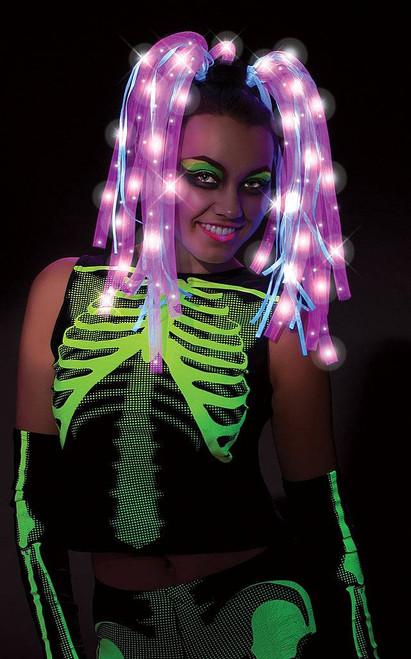Ravin Pink Light Up Wig