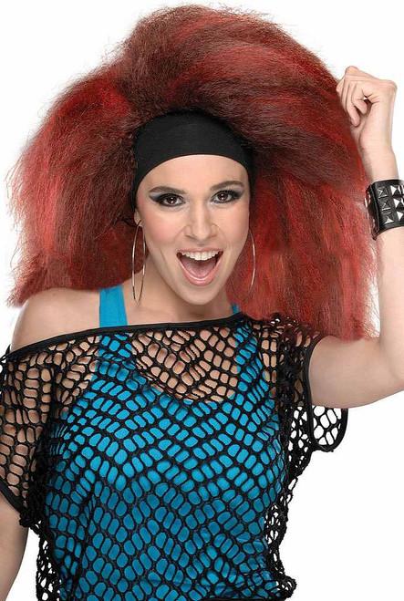 Rocking Wig Red