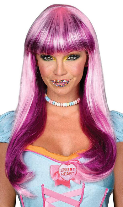 Candy Babe Violet Wig