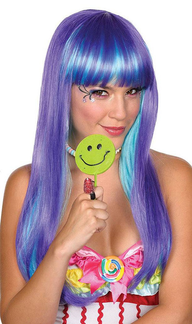 Candy Babe Purple Wig