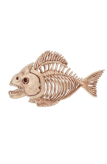 Skeleton Fish Decor