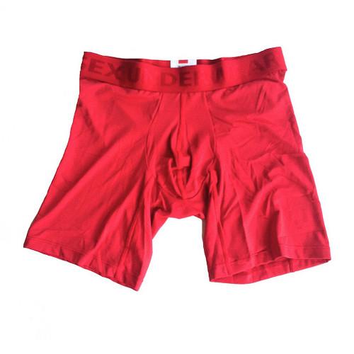 Red Microfiber Boxer