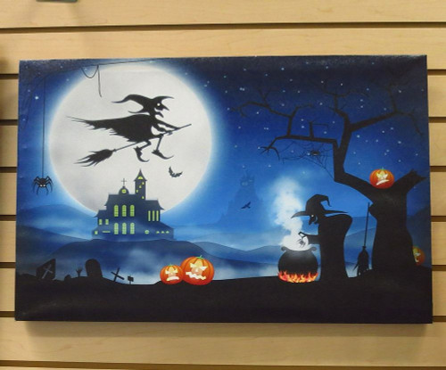 Halloween Canvas Wall Art