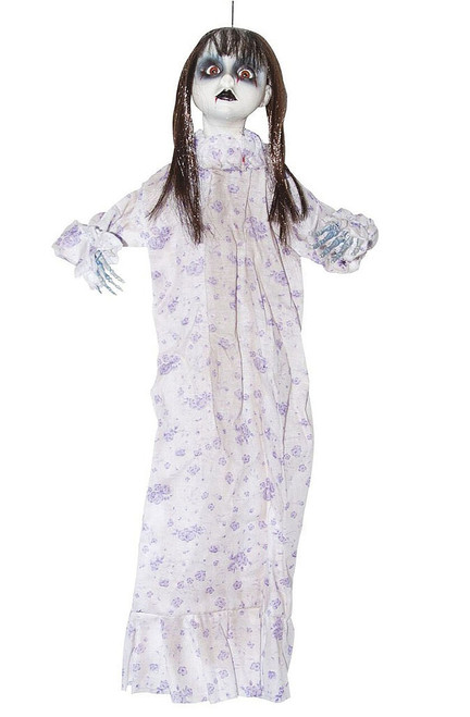 "Bloody White Doll Decor 20"""
