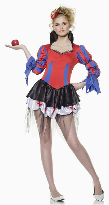 Evil Snow White Princess Costume