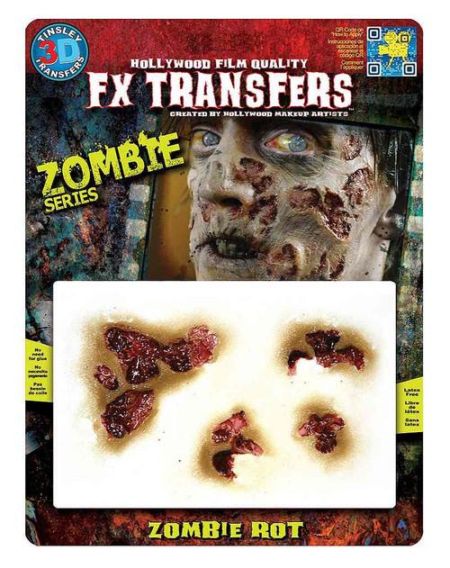 Zombie Rot Transfer Tattoo