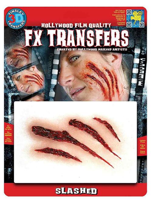 Slashed Transfer Tattoo