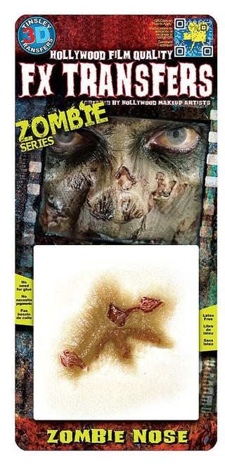 Zombie Nose Transfer Tattoo