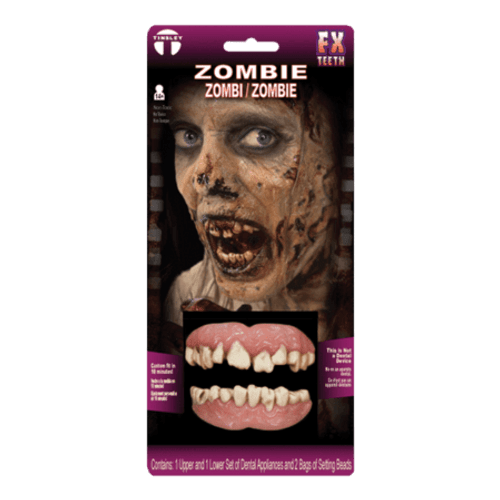 Zombie Teeth Prosthetics
